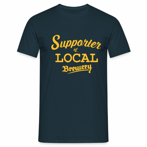 Supporter of local brewery - Männer T-Shirt