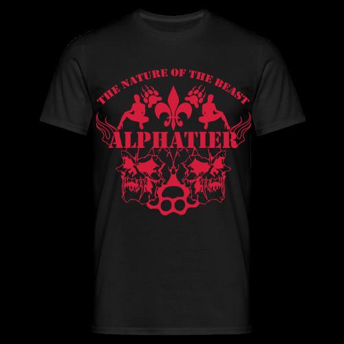 alpahtier ~ the nature of the beast - Männer T-Shirt