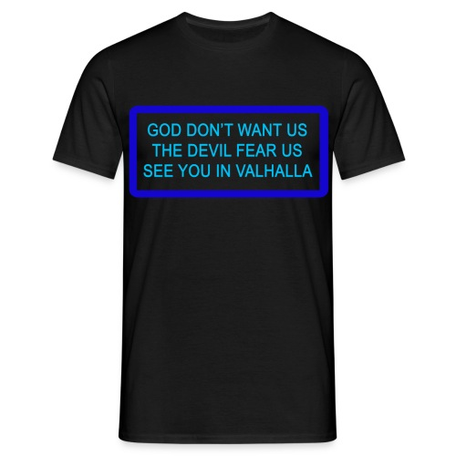 God don't want us - Herre - Herre-T-shirt