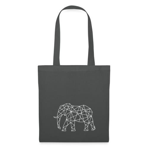 Stoffbeutel mit Elefant(en) Familie - Stoffbeutel