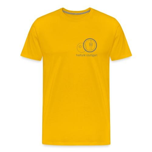 Freifunk Stuttgart Logo Shirt für Männer - Männer Premium T-Shirt