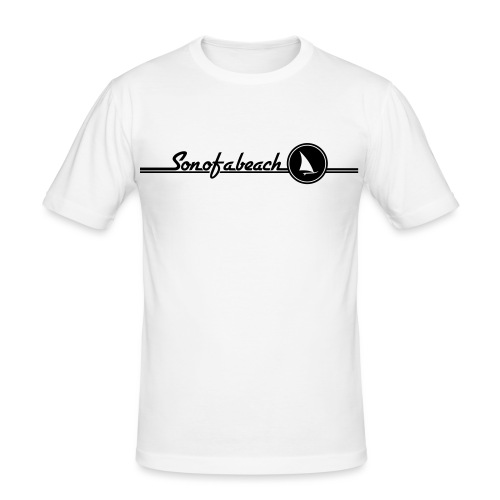 Sonofabeach Windsurf - Männer Slim Fit T-Shirt