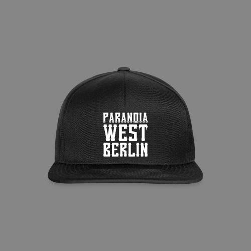 PARANOIA CAP II - Snapback Cap