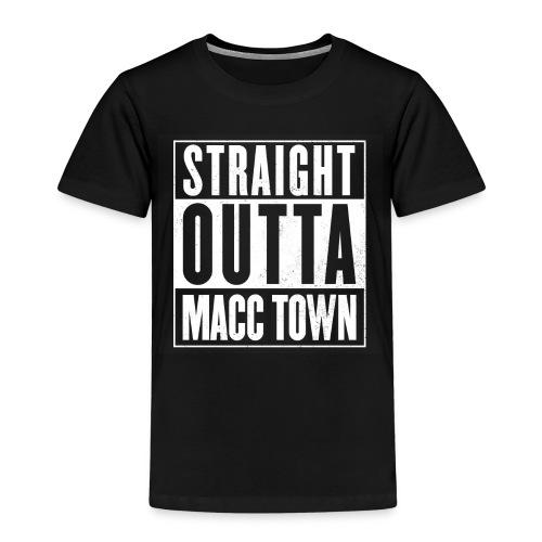 Straight Outta Macc Kids Shirt - Kids' Premium T-Shirt