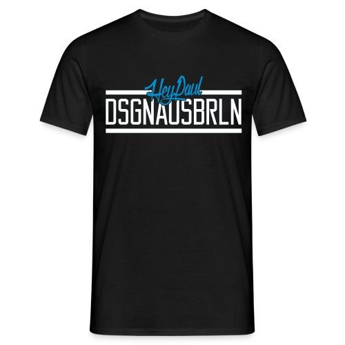 HEYPAUL_DSGNAUSBRLN_LOGO-HELL - Männer T-Shirt