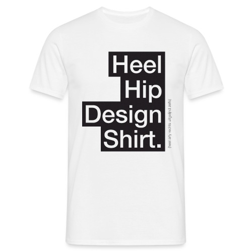 Hip Design mannen t-shirt - Mannen T-shirt