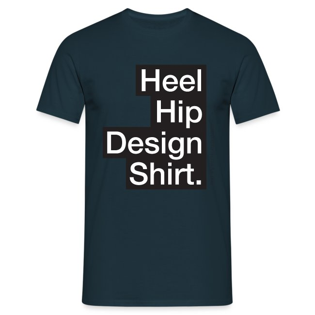 Hip Design mannen t-shirt