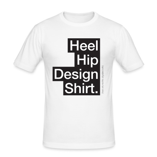 Hip Design mannen slimfit - slim fit T-shirt