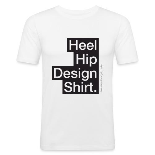 Hip Design mannen slimfit - slim fit T-shirt