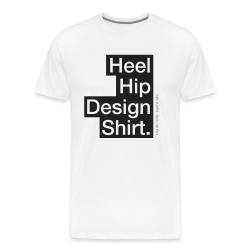 Hip Design mannen premium - Mannen Premium T-shirt