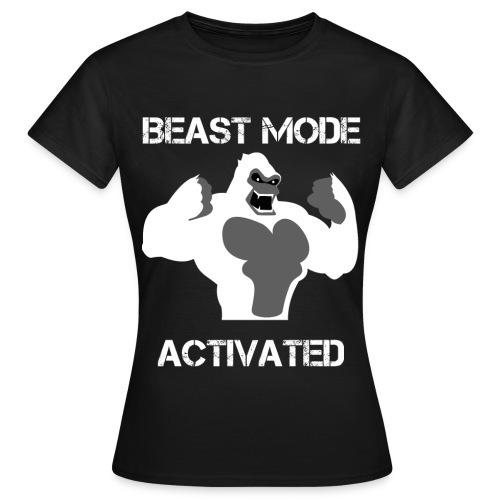 Beast mode shirt - T-shirt Femme