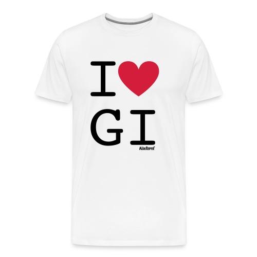 I love GI - Männer Premium T-Shirt