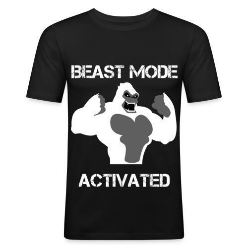 Beast mode slim shirt - T-shirt près du corps Homme