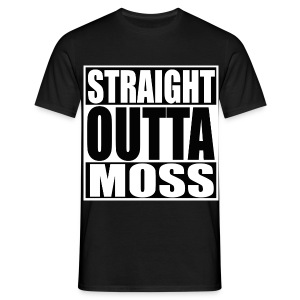 Straight Outta Moss - T-skjorte for menn