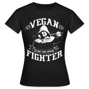 Vegan fighter shirt - T-shirt Femme