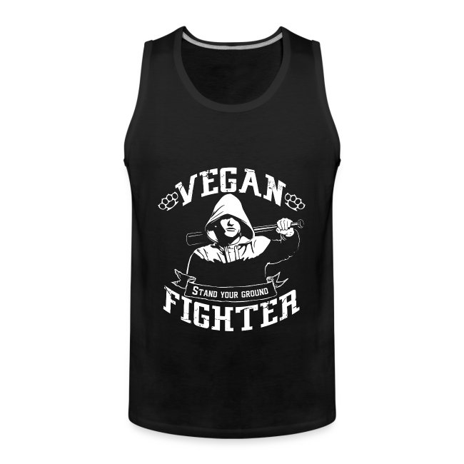 Vegan fighter tank top