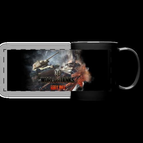 World of Tanks Battlefield Panoramatasse  - Full Color Panoramic Mug