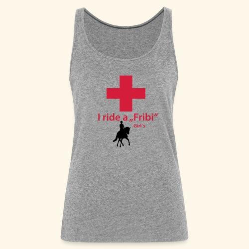 Freiberger T-Shirt Dressur Girls - Frauen Premium Tank Top