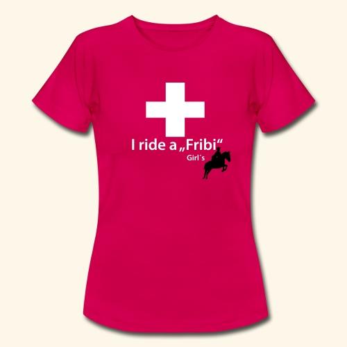 Freiberger T-Shirt Springen - Frauen T-Shirt