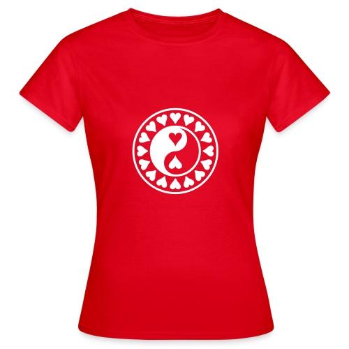 Yin und Yang - T-Shirt Frauen - Frauen T-Shirt