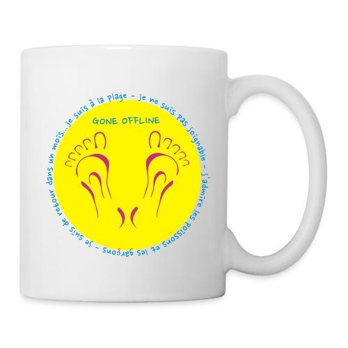 Mug plage yellow - Mug