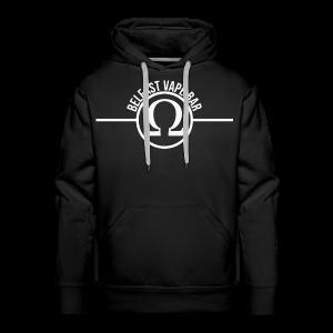 Belfast Vape Bar Hoodie (black) - Men's Premium Hoodie