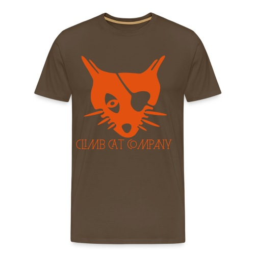Pirate cat By Climb Cat Company - T-shirt Premium Homme