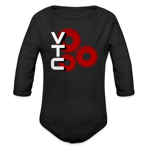 VTC-Baby-Body-Langarm Für den Simracing-Nachwuchs - Baby Bio-Langarm-Body