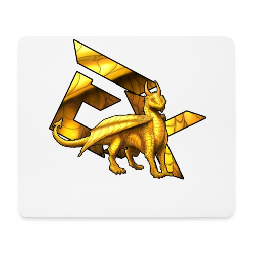 Exhale Empire The Golden Dragon Mouse pad  - Mouse Pad (horizontal)