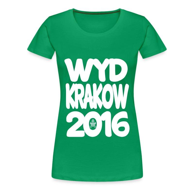 WYD2016 - Women's Premium T-Shirt