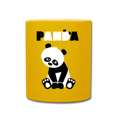 tasse panda cute spreadshirt. Black Bedroom Furniture Sets. Home Design Ideas