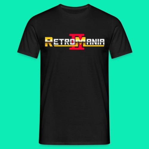 Retro Mania II Logo - Men - Männer T-Shirt