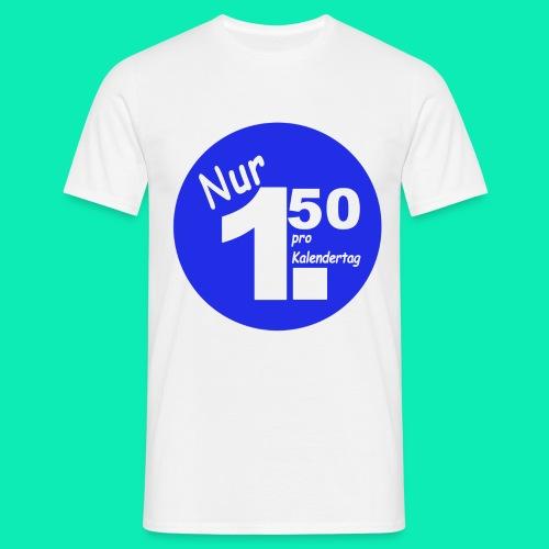 Pro Kalendertag - Blau - Männer T-Shirt