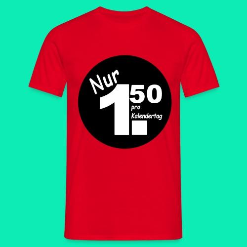 Pro Kalendertag - Schwarz - Männer T-Shirt