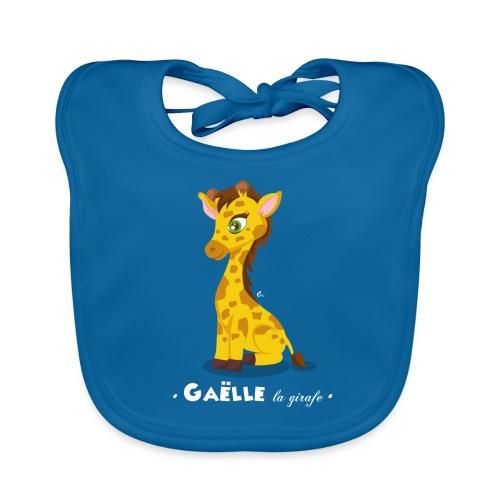 Bavoir Gaëlle la girafe - Bavoir bio Bébé