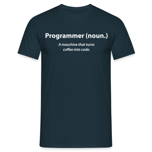 Definiere Programmer - Men's T-Shirt