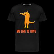 T-shirts ~ Mannen Premium T-shirt ~ Rave T-shirt voor Koningsdag