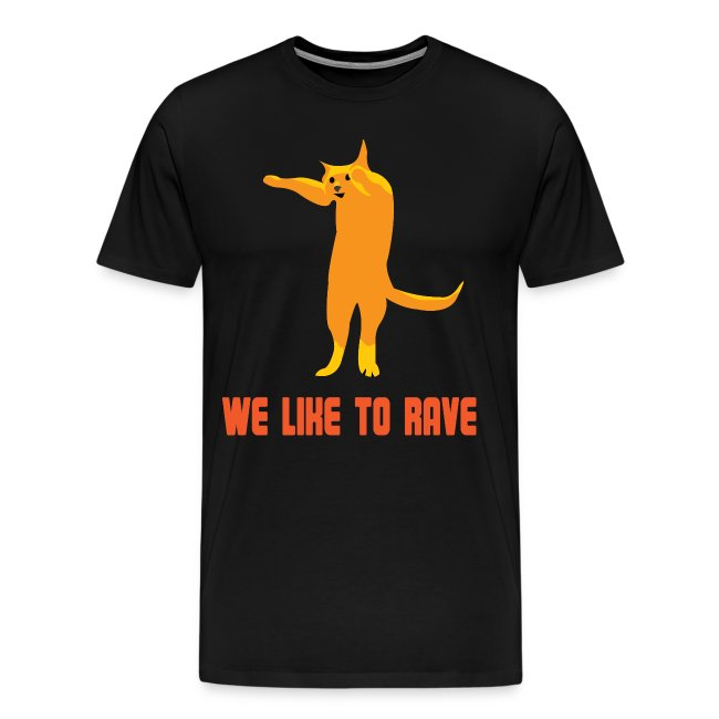 Rave T-shirt voor Koningsdag