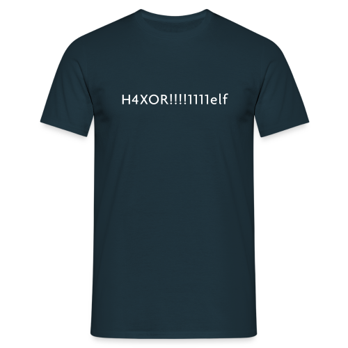 H4XOR - Men's T-Shirt