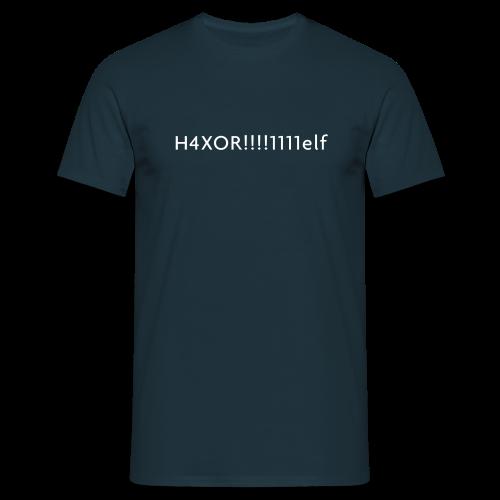 H4XOR - Männer T-Shirt