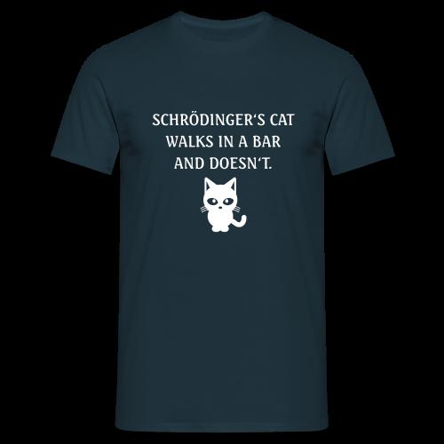 Schrödinger's Katze - Men's T-Shirt