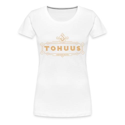Tohuus im Stadion - Frauen Premium T-Shirt