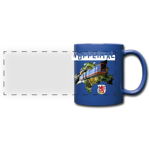 Wuppertal Tasse - Panoramatasse farbig