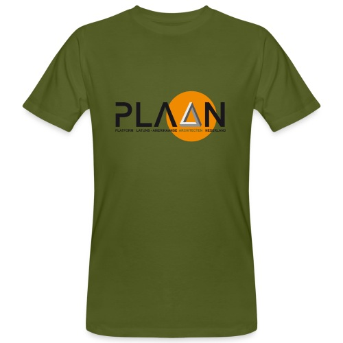 Bio T-Shirt man LOGO - Mannen Bio-T-shirt