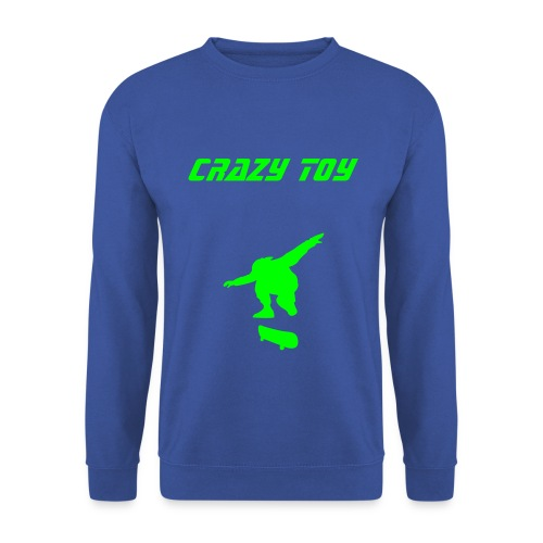 SWEAT CRAZY TOY SKATEUR - Sweat-shirt Homme