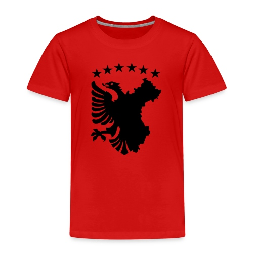 Shqipe - Autochthonous Flagge T-Shirts - Kinder Premium T-Shirt
