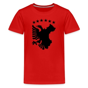 Shqipe - Autochthonous Flagge T-Shirts - Teenager Premium T-Shirt