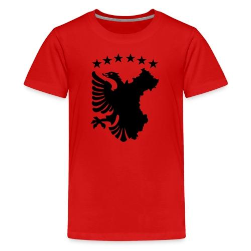Shqipe - Autochthonous Flagge T-Shirts - Teenager Premium T-Shirt