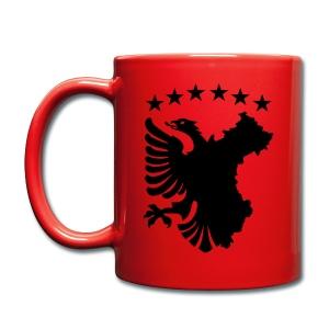 Shqipe - Autochthonous Flagge Tassen & Zubehör - Tasse einfarbig