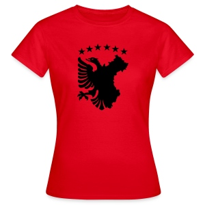 Shqipe - Autochthonous Flagge T-Shirts - Frauen T-Shirt